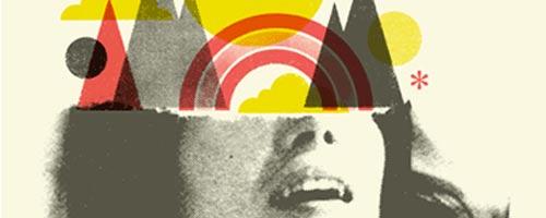 Doublenaut, un studio de graphisme et d'illustration de Toronto travaillant essentiellement pour l'univers musical.