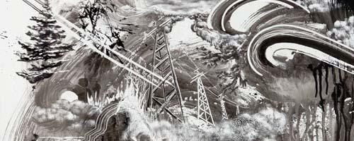 Paysages de l'artiste américain Gregory Euclide