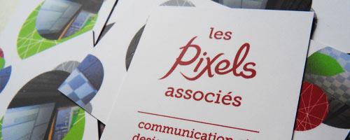 Les Pixels Associés, studio de communication et design multimédia