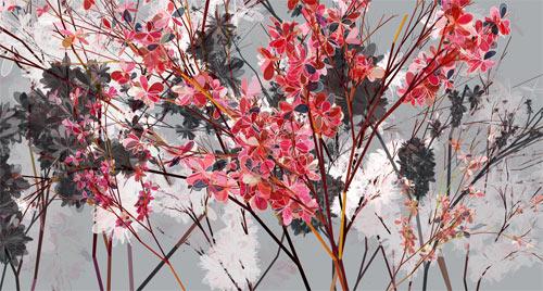 Holger Lippmann, peinture abstraite programmation, peinture mandala processing
