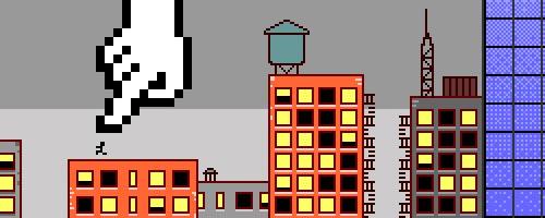Paphù un projet de série d'animation en pixel art
