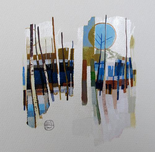 Tang, peintre plein d'inspiration, aux oeuvres graphiques et colorées