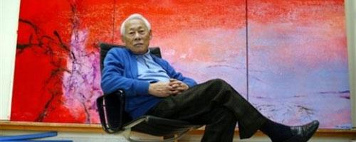 Hommage au peintre franco-chinois Zao Wou-Ki